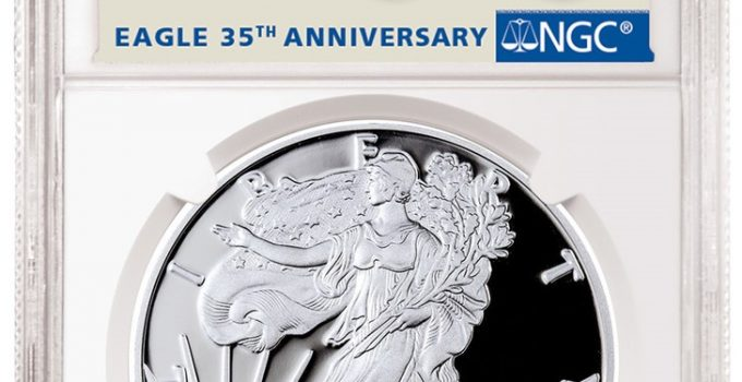 2021-W American Eagle Silver Proof NGC Early Release Label (Image Courtesy of NGC)