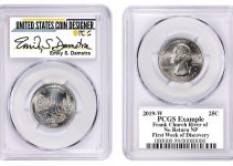 PCGS Emily Damstra Signed Label (Image Courtesy of PCGS)
