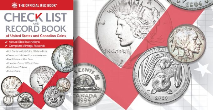 Whitman Publishing releases new expanded Check List and Record Book of United States and Canadian Coins