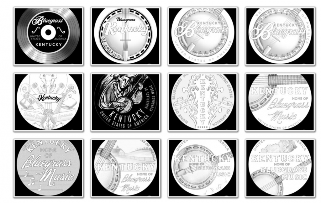 Kentucky American Innovation Dollar Design Candidates (Image Courtesy of The United States Mint) - Page 1