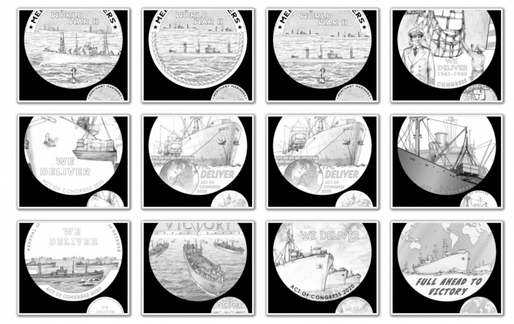 Merchant Mariners of World War II Congressional Gold Medal (Image Courtesy of The United States Mint) - Page 2