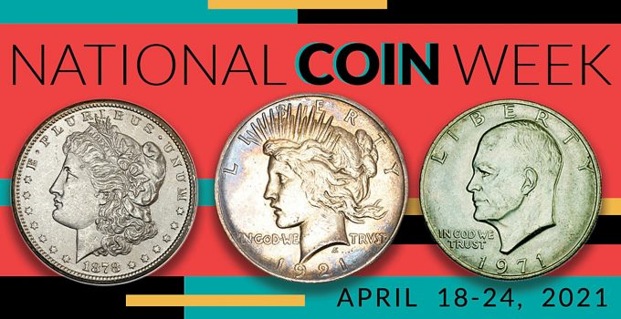 National Coin Week Banner (Image Courtesy of ANA)