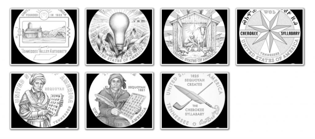 Tennessee American Innovation Dollar Design Candidates (Image Courtesy of The United States Mint) - Page 2