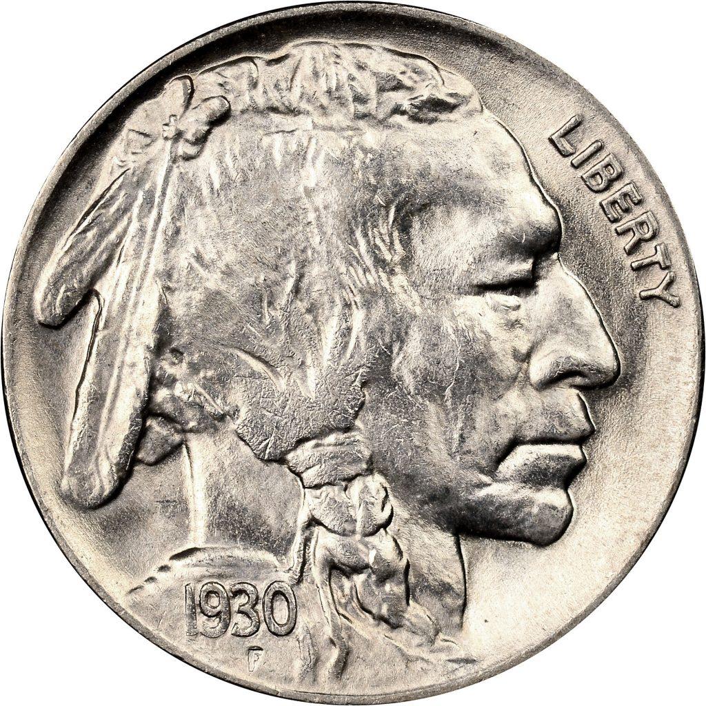 1930 Indian Head Nickel (Image Courtesy of NGC)