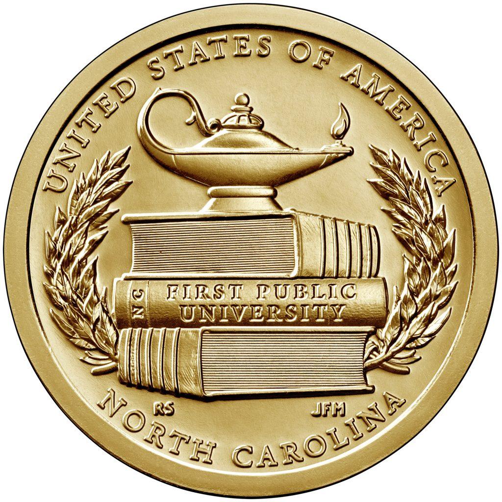 2021 American Innovation Dollar Reverse - North Carolina (Image Courtesy of The United States Mint)