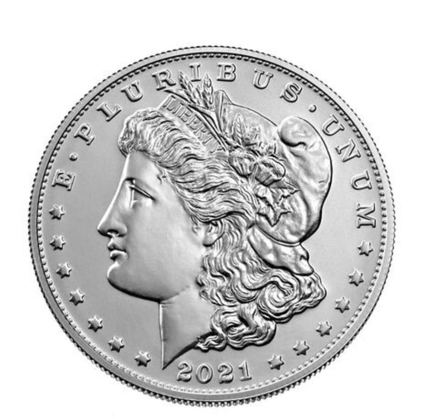 2021 Morgan Dollar Obverse (Image Courtesy of The United States Mint)