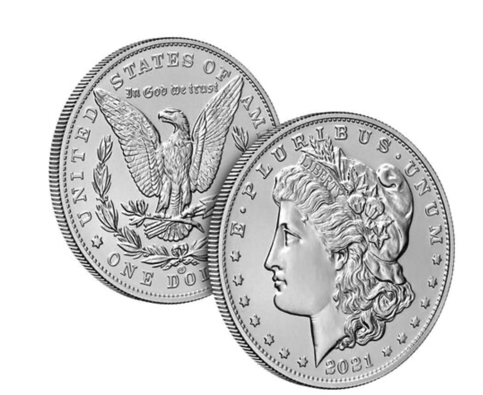 Morgan Dollar with CC Privy Mark (Image Courtesy of The United States Mint)