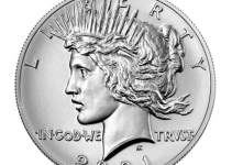 2021 Peace Dollar Obverse (Image Courtesy of The United States Mint)