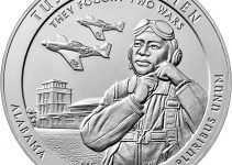 2021 Tuskegee Airmen 5-Ounce Silver Coin Reverse (Image Courtesy of The United States Mint)