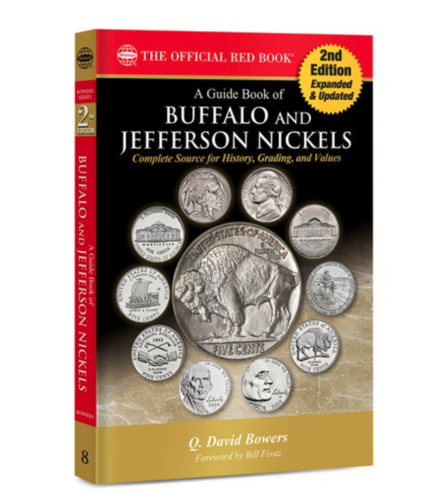 A Guide Book of Buffalo and Jefferson Nickels (Image Couresty of Whitman Publishing)