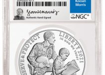 NGC Inks Exclusive Signature Label Deal with Coin and Medal Designer Frank Kocian Morris