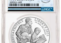 NGC National Law Enforcement Dollar Label (Image Courtesy of NGC)