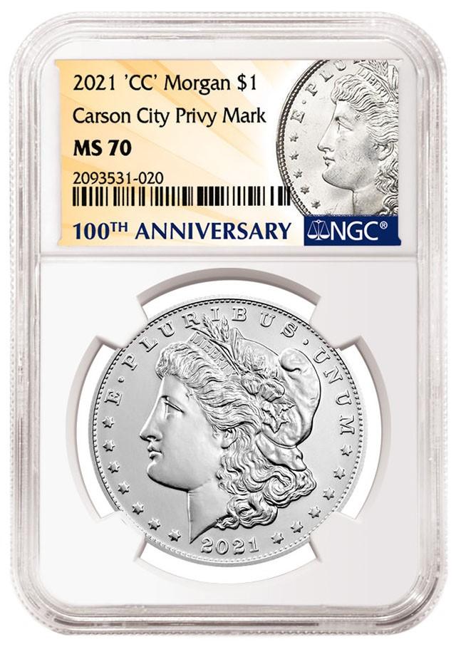 2021 Morgan Dollar CC Privy Mark (Image Courtesy of NGC)