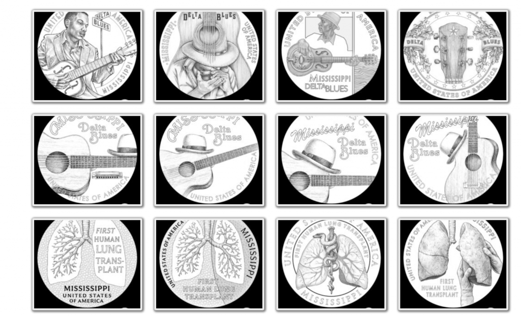 2023 American Innoation Dollar Design Candidates - Mississippi Page 1