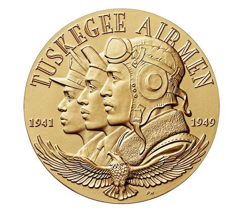 Tuskegee Airmen Bronze Medal (Image Courtesy of The United States Mint)