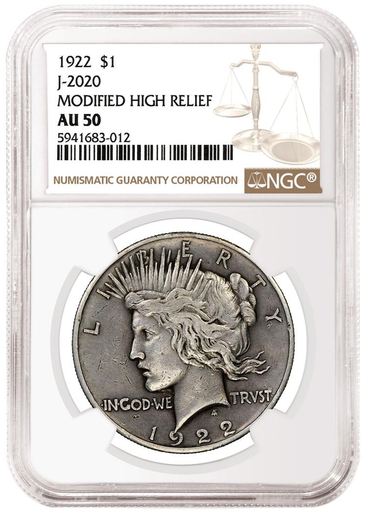 1922 Peace Dollar (Image Courtesy of NGC)