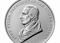 First Look! John Tyler Presidential Silver Medal