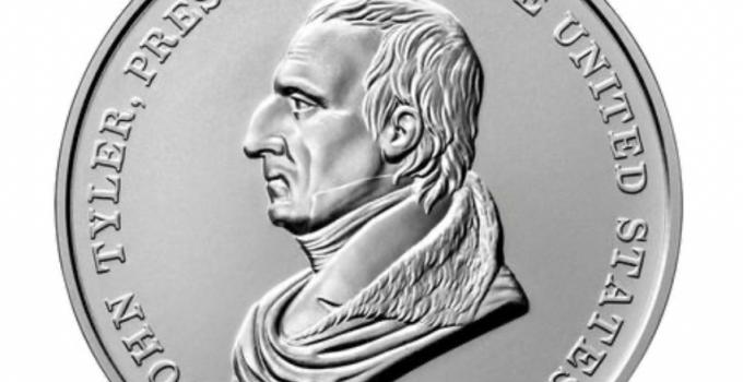 John Tyler Presidential Silver Medal Sales Begin August 2, 2021