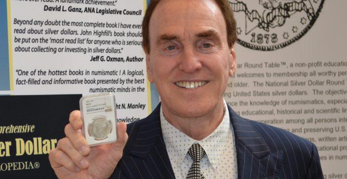 Central States Numismatic Society Honors John Highfill with 2021 Q. David Bowers Award