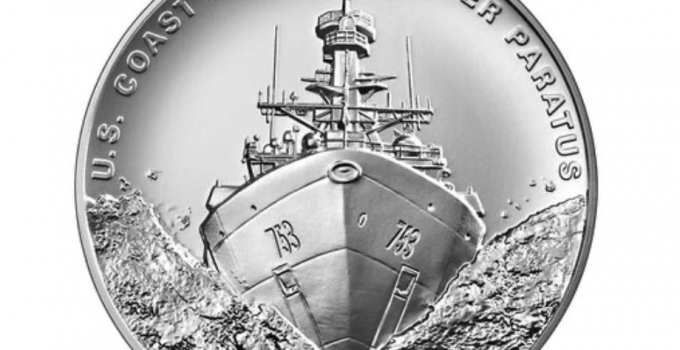 First Look! United States Coast Guard 2.5 Ounce Silver Medal